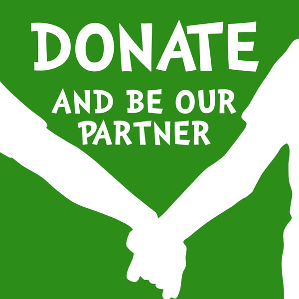 Donate and Be Our Partner